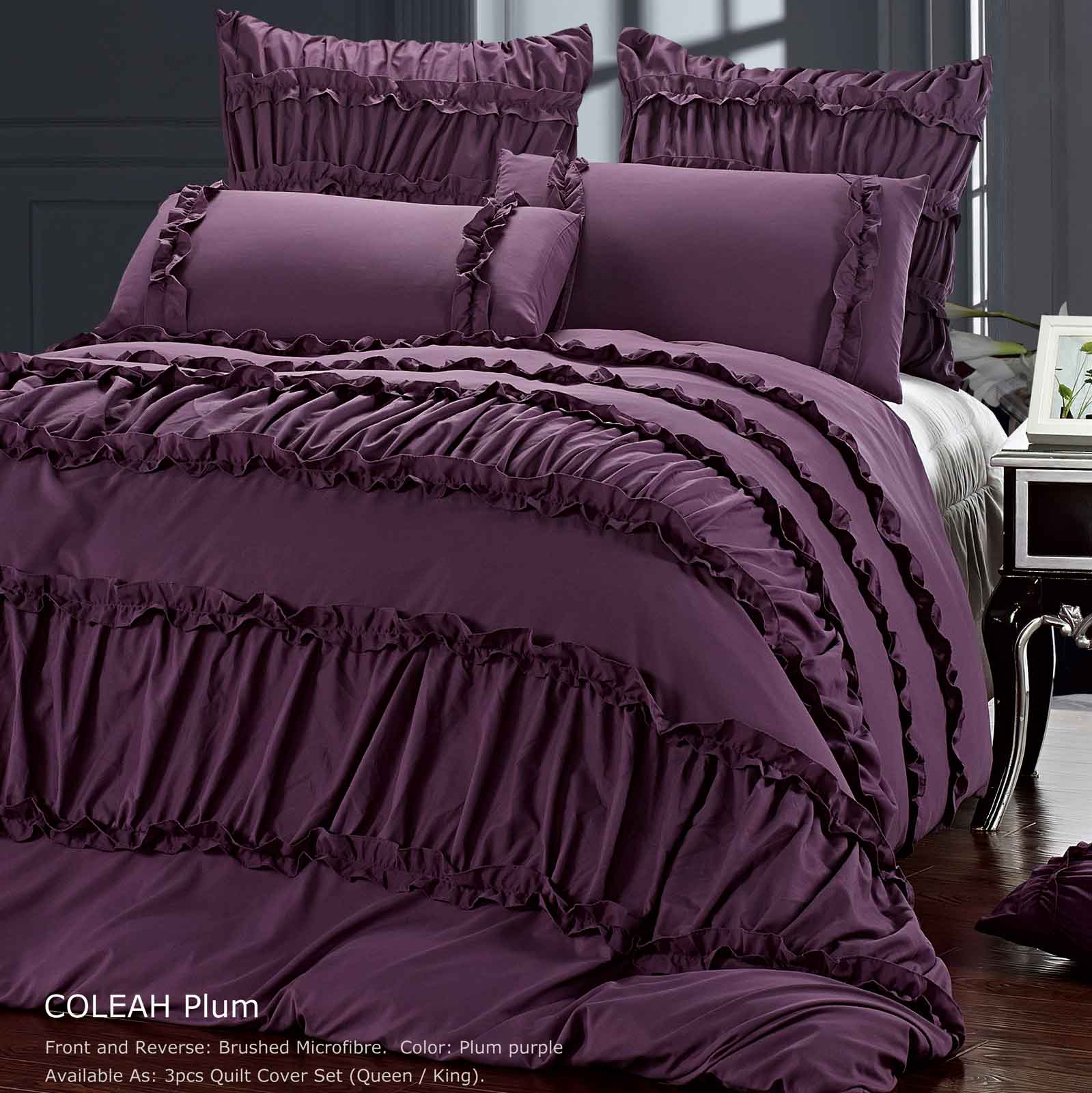 Coleah-King-Queen-Size-Duvet-Quilt-Cover-Set-Purple-3-Pcs-Bedding-Set-Bed-Linen