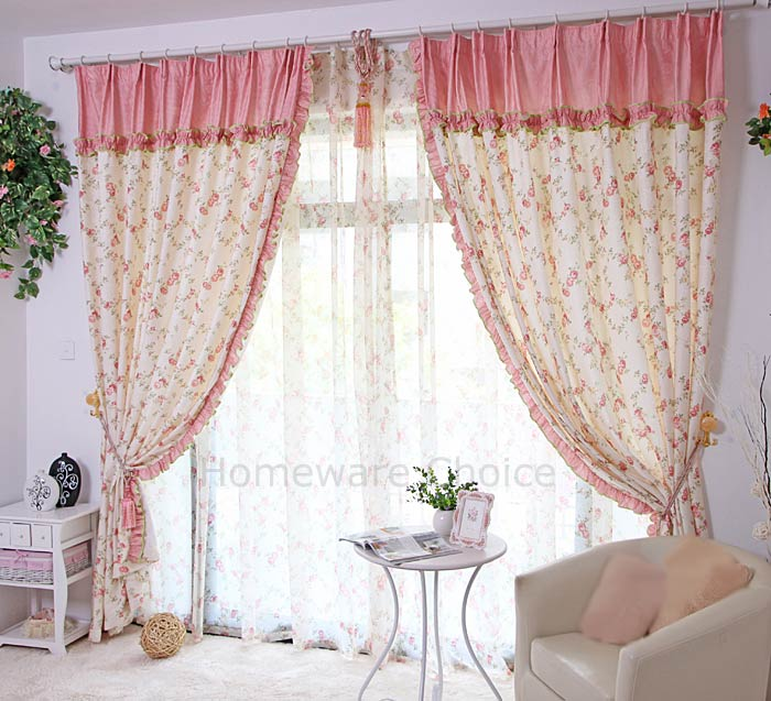 Grommet curtains pattern grommet curtain single - 2 X Eyelet Curtain Panels Pink Country Curtains 140x230cm