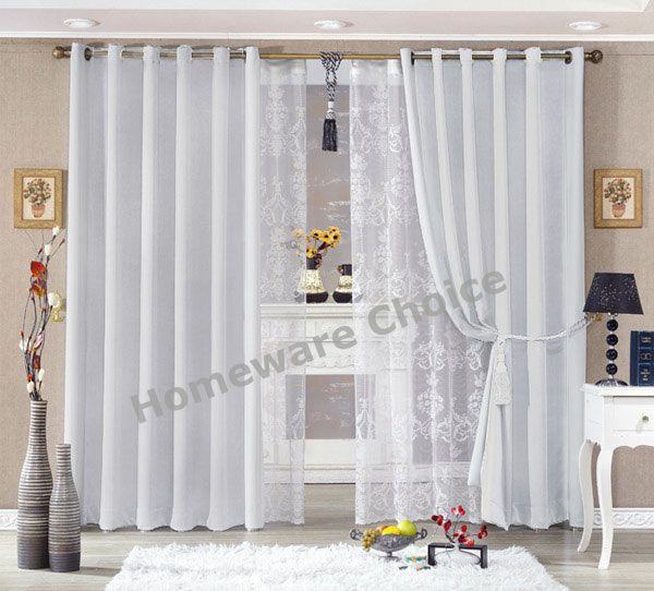 EYELET Blackout Curtain Blockout Curtains OFF WHITE 140x230cm Drop New  EYEWHT1