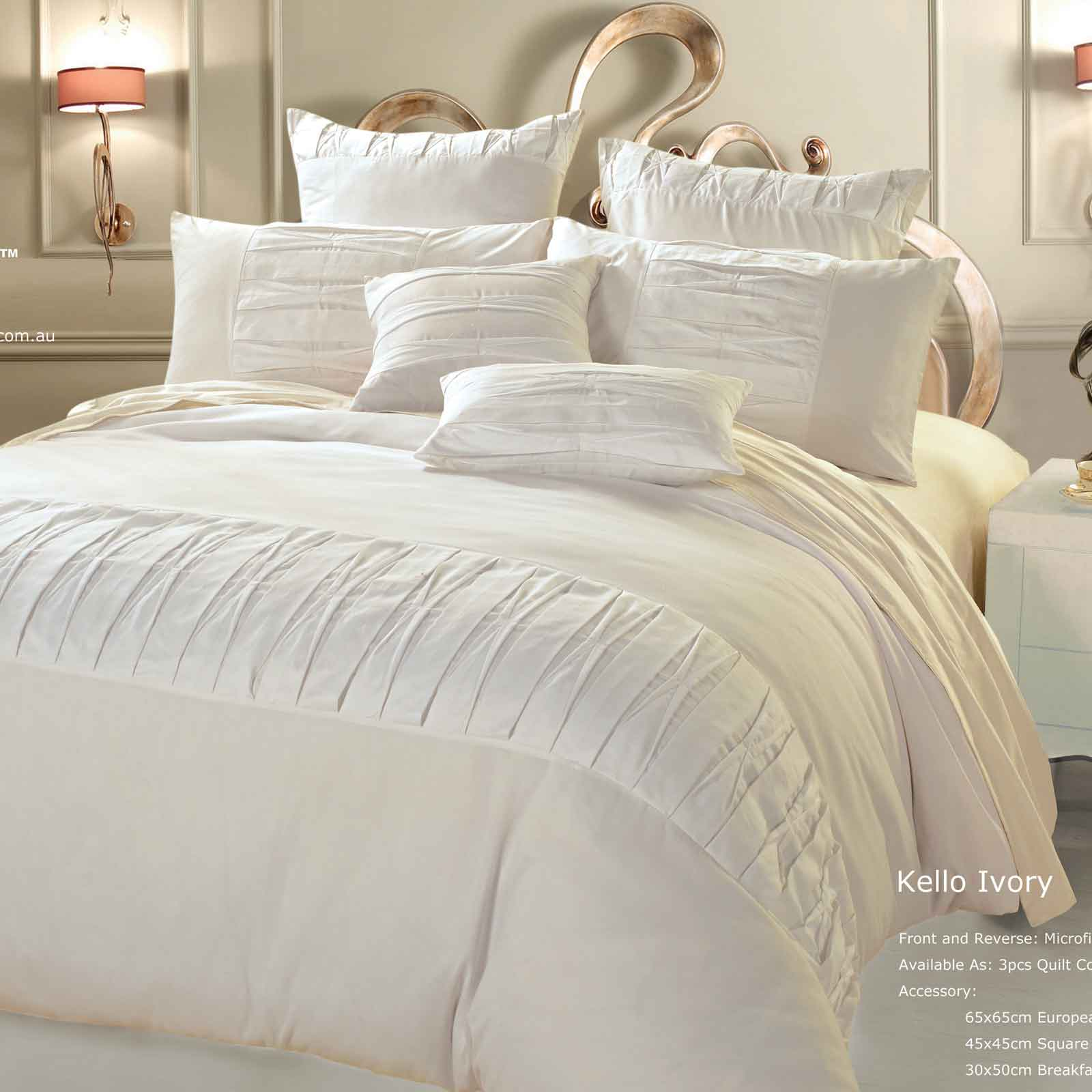 Luxton-Linen-Kello-Ivory-King-Duvet-Quilt-Cover-Set-3pcs-Bedding-set-J06IVYK