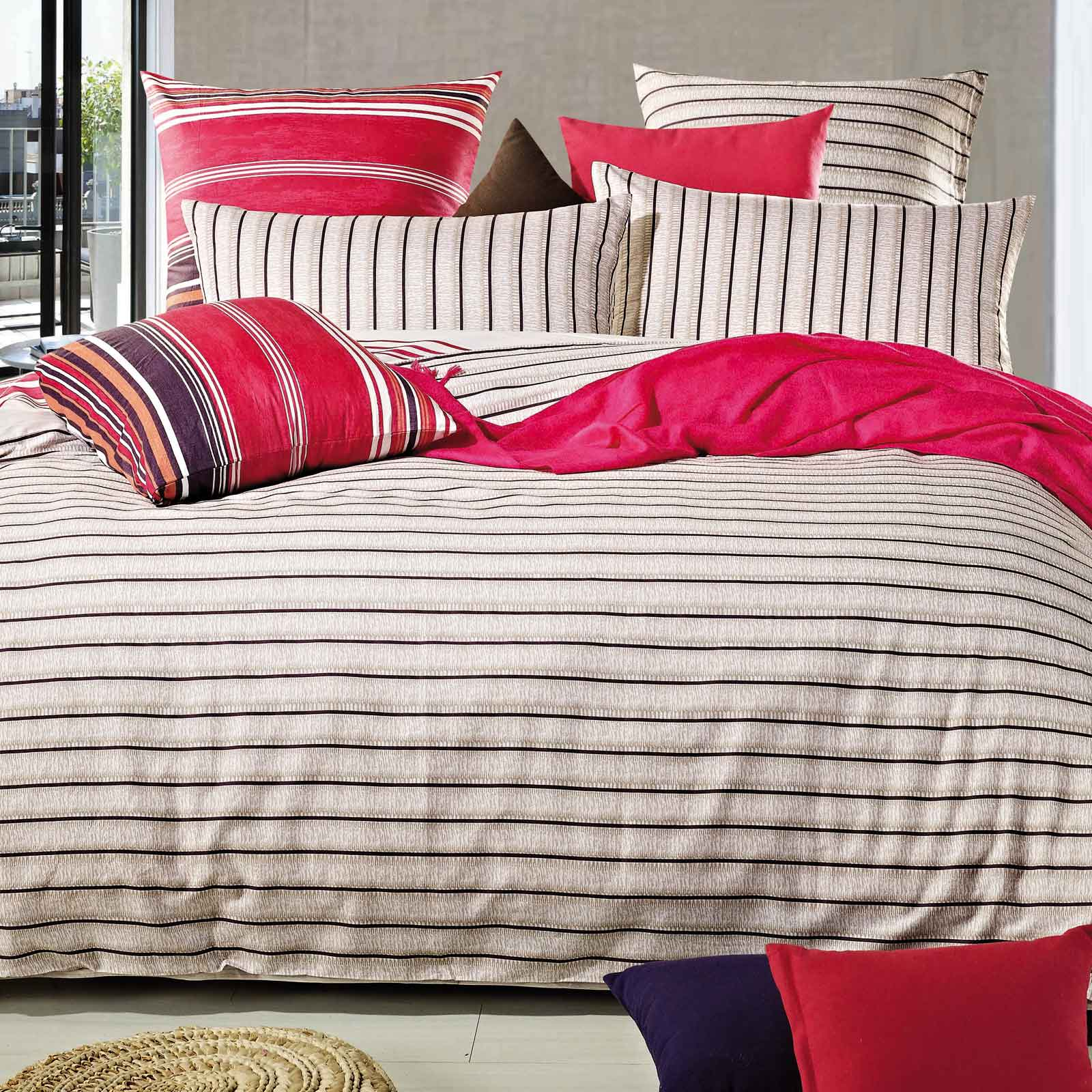 Amy-100-Cotton-King-Quilt-Cover-Set-Reversible-Bed-linen-bedding-set-L00021K