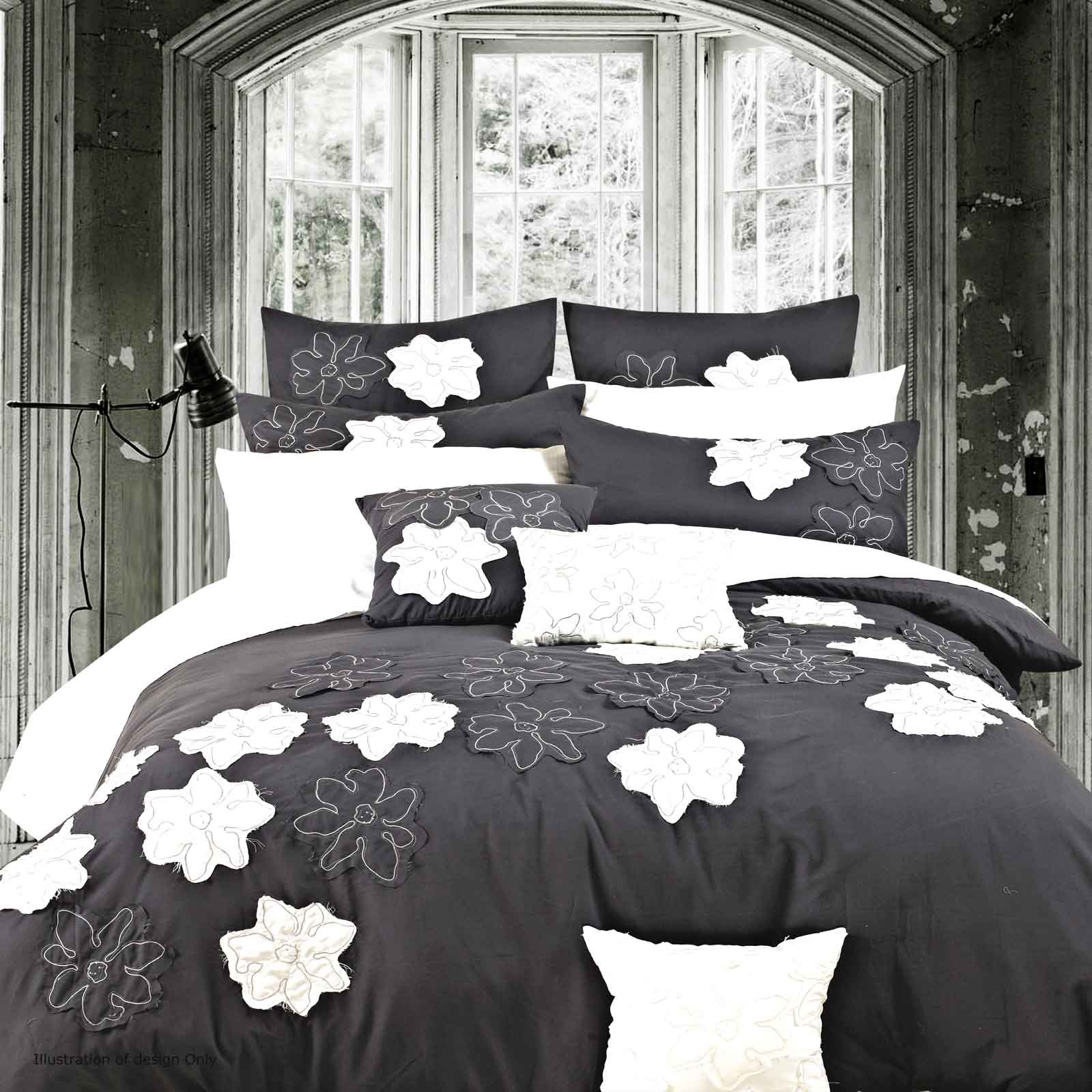 Luxton-Linen-Bernadine-King-Bed-Duvet-Quilt-Cover-Set-3pcs-Bedding-set-S00011K