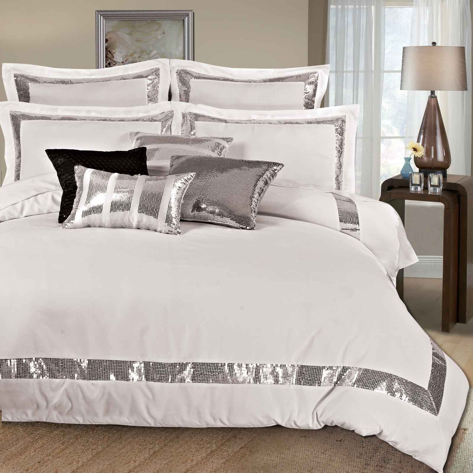 Luxton-Linen-King-Size-Duvet-Quilt-Cover-Set-3pcs-Bedding-Set-Bed-Linen-S00013K